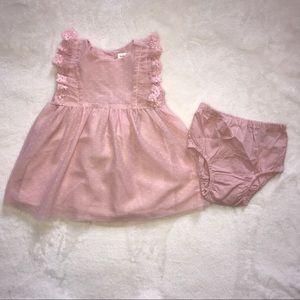 Gap Baby | Pink Lace Dress